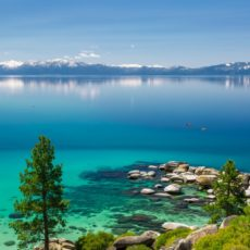O lago Tahoe é, sem dúvida, um dos mais belos do mundo